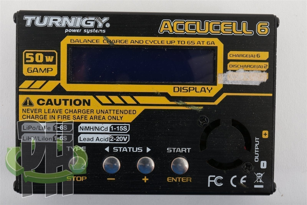 Turnigy Accucell-6 5A Balancer/Charger LiPoly, LiFe, NiMH, Nicd & Led Acid