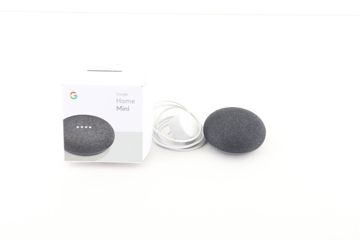 Google Home Mini - Smart Speaker - Charcoal - Open Box
