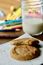Load image into Gallery viewer, Browned-butter Snickerdoodle Cookies