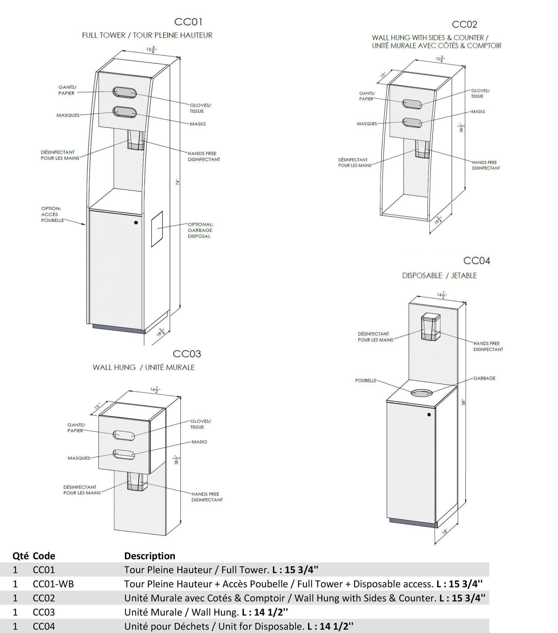 sanitizing stations prices
