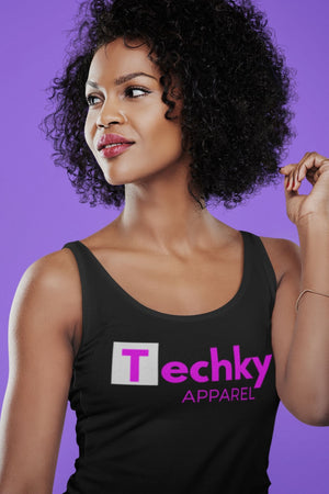 Techky Apparel Racerback Tank