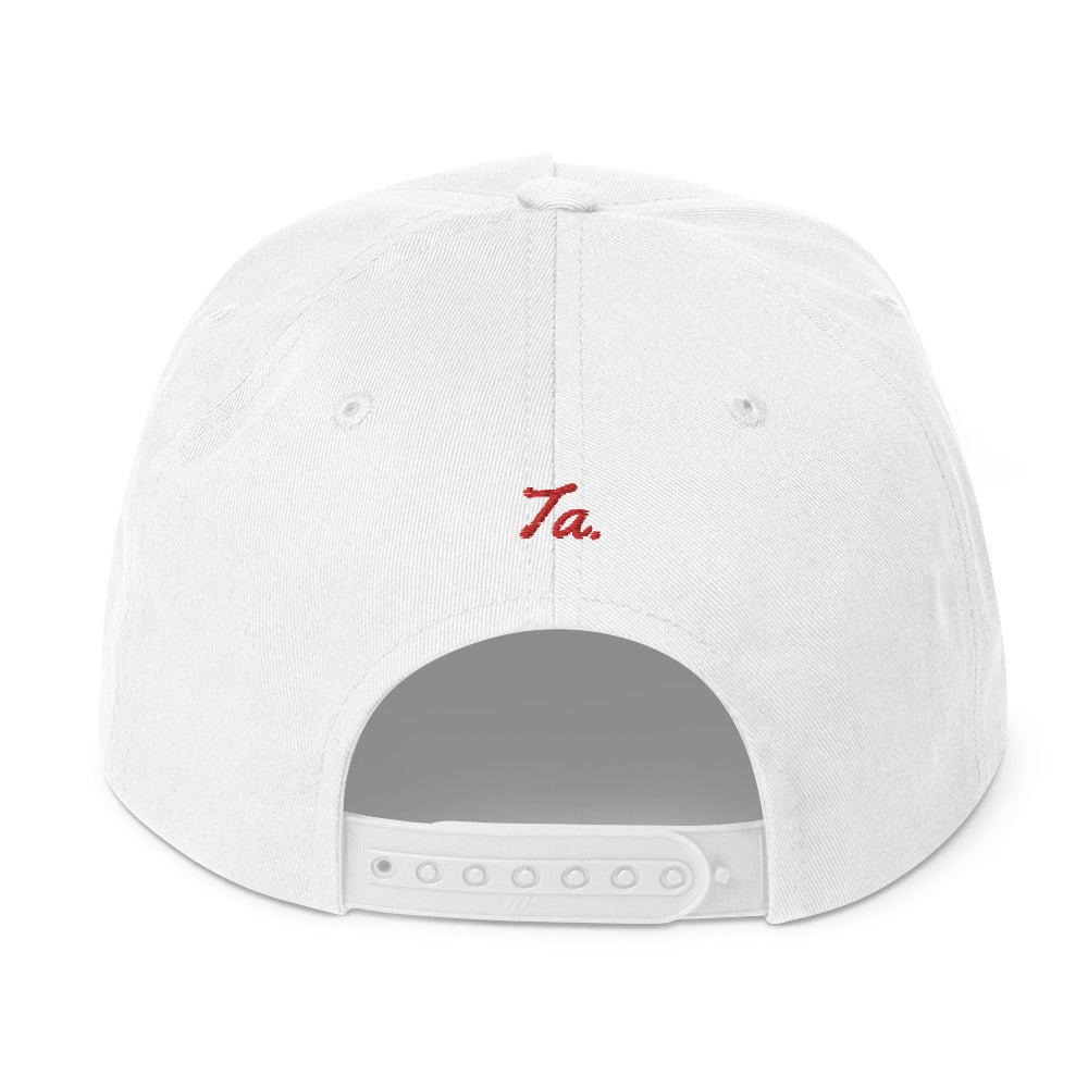 Techky Snap Back - White