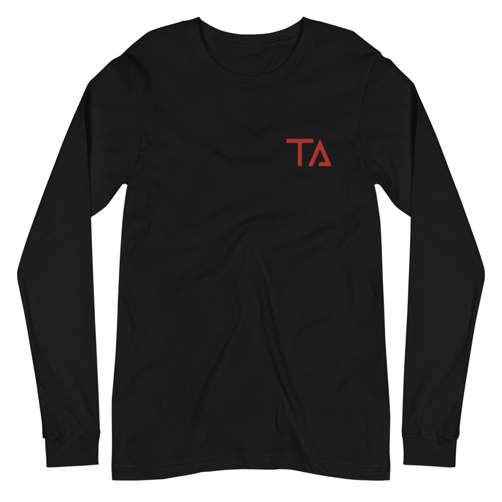 Techky Long Sleeve Tee (Red )
