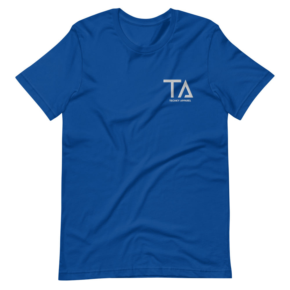 Techky Apparel Embroidered Tshirt - Nipsey Blue