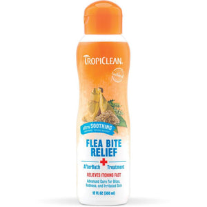 Tropiclean Flea & Tick After Bath, Bite, Relief Treatment for Dogs & Cats