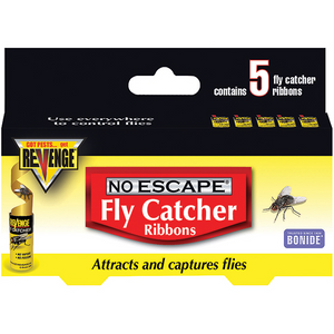 REVENGE NO ESCAPE FLY CATCHER RIBBONS 5 PACK
