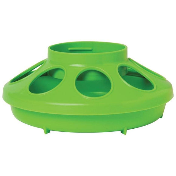 LITTLE GIANT PLASTIC POULTRY FEEDER BASE