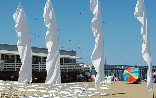 Feather Banner - Affordable & Luxury Event Rental