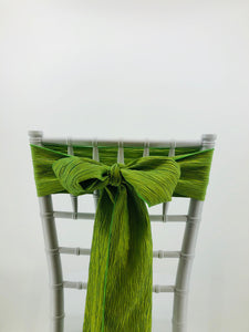 Chair Sashes - Affordable Tent & Event Rentals