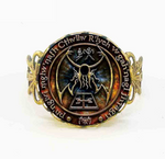 Bague Cthulhu Necronomicon