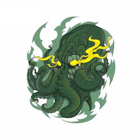 Sticker Cthulhu Folie