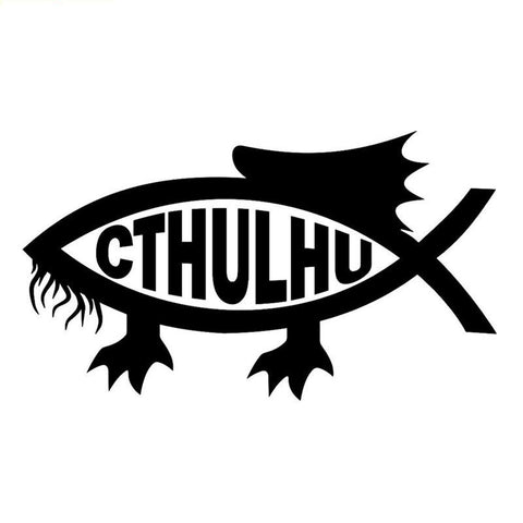 Sticker Cthulhu Poisson