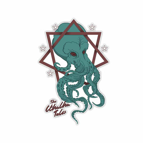 Sticker The Cthulhu Tales