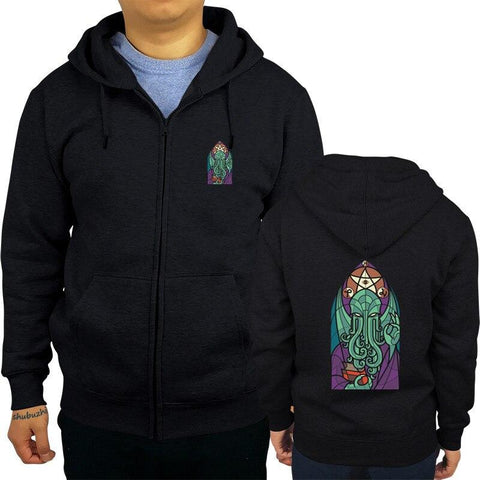 Sweat Shirt Cthulhu Vitrail