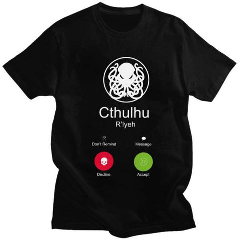 T-shirt Call Of Cthulhu Phone