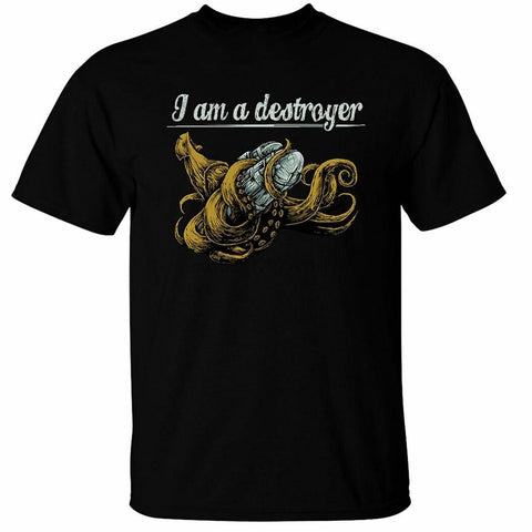 T-shirt Cthulhu Destroyer