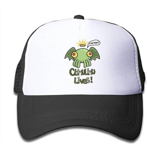 Casquette Cthulhu Lives Fhtagn
