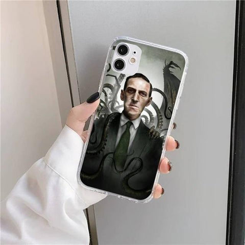 Coque iPhone Lovecraft & Tentacule