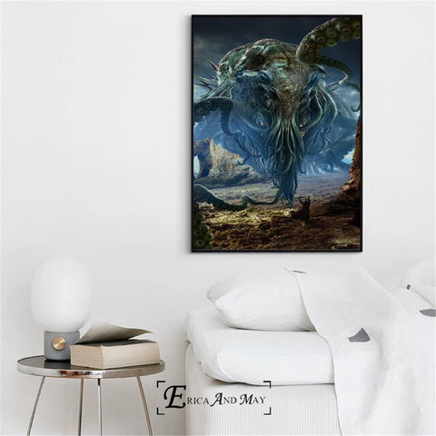Canvas Cthulhu Monstre