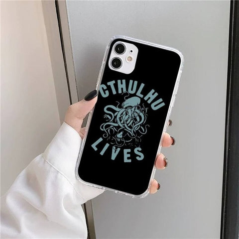 Coque iPhone Cthulhu Lives