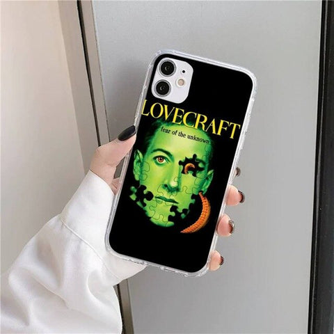 Coque iPhone Lovecraft Fear Of The Unknown