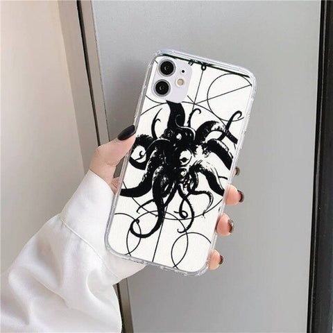 Coque iPhone Cthulhu Tribal