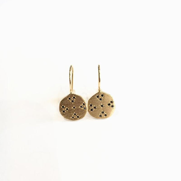 Cruz Medallian Earrings