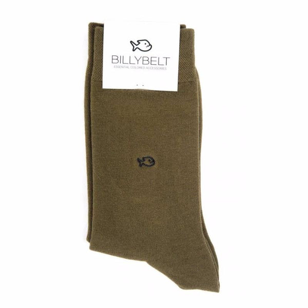 Cotton Socks - Khaki Green