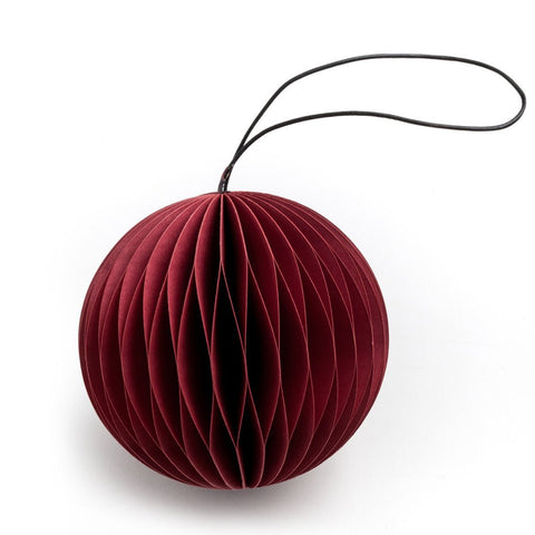 Red Scoop Ornament