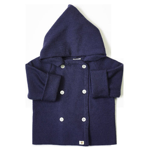 Pure Merino Jacket - French Navy