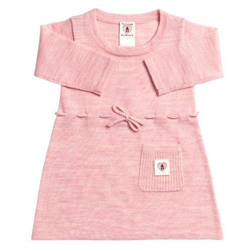 Pure Merino Dress - Candytuft Pink