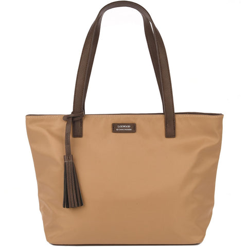 Eden Nylon Bag - Beige