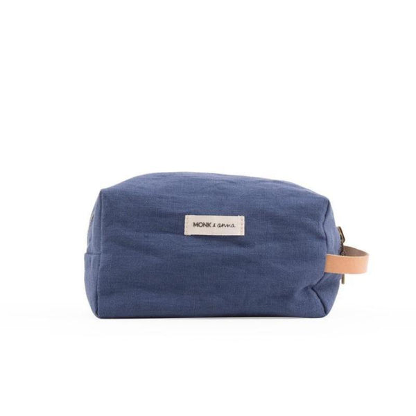 Monk & Anna Toiletry Bag Midnight Blue