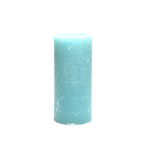 Pillar Candle 13cm - Light Blue