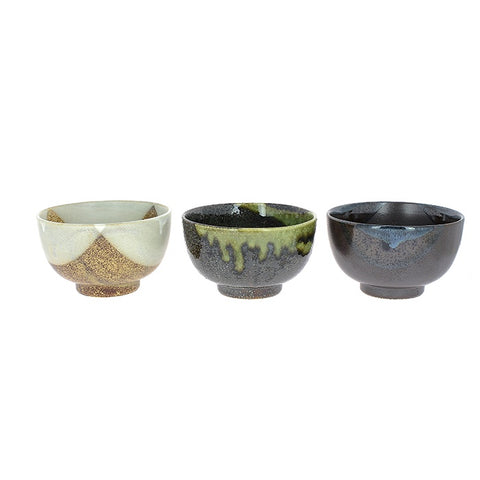 Set of 3 Bowls - Japanese Ceramic