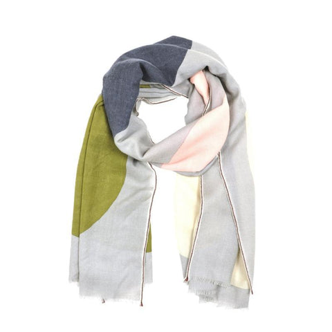 Pure Wool Scarf - Dover Grey