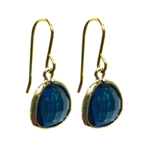 Load image into Gallery viewer, India Earrings - Sapphire Blue