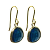India Earrings - Sapphire Blue