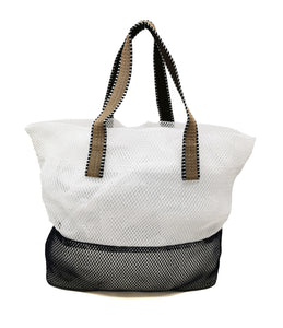 Mesh Tote Bag Small - Cream