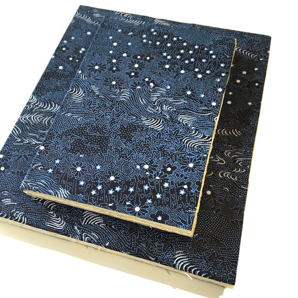 Handmade Sketchbook - Nighttime Flowers
