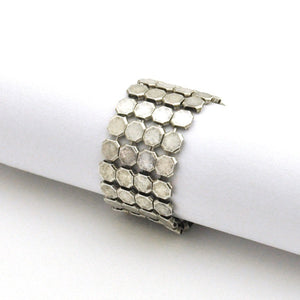 Louison Scale Mesh Ring