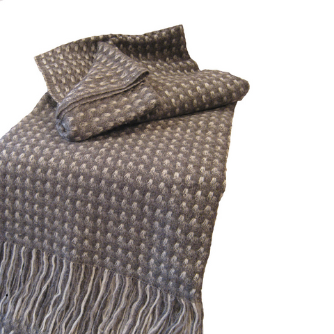 Kauri Grey Throw - Grey