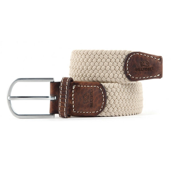 Braided Belt - Sandy Beige