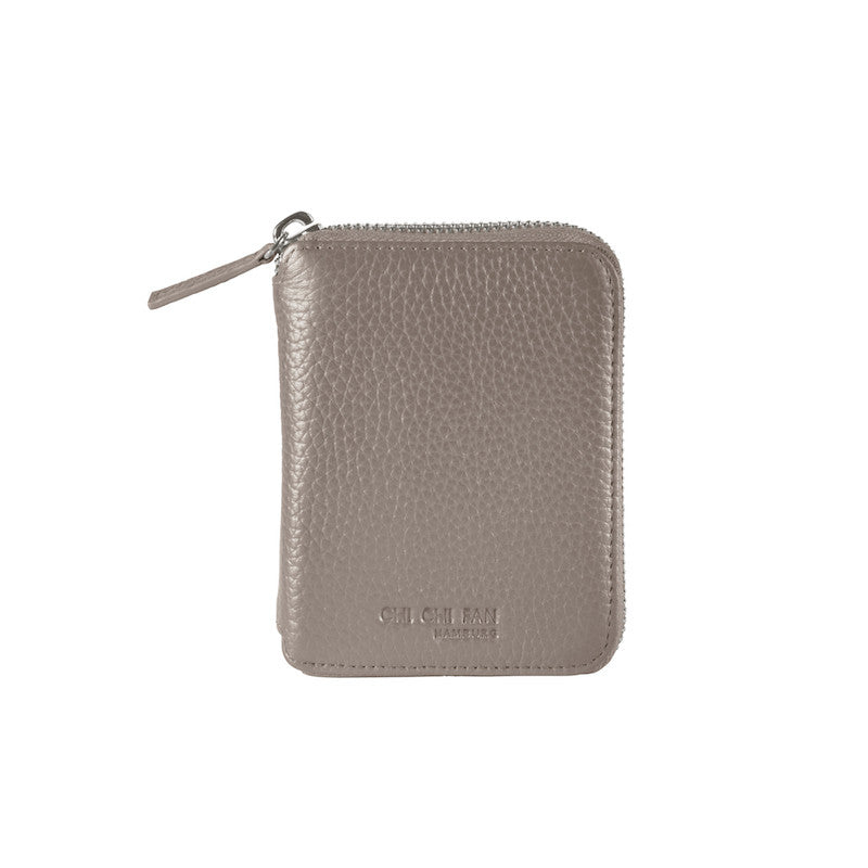Compact Wallet - Light Grey