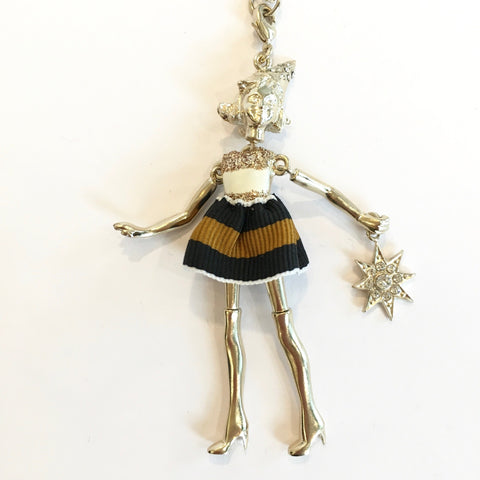 Doll Necklace - Party Hat Girl