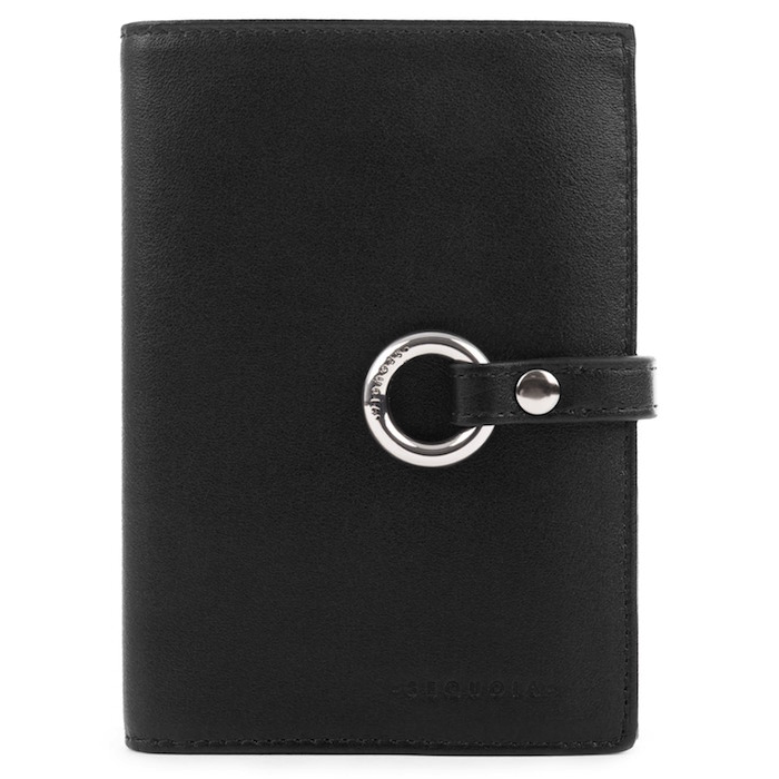 Sequoia - Black Wallet (Small)