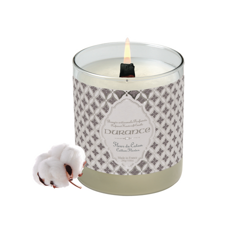 Premium Scented Candle 280g - Cotton Flower