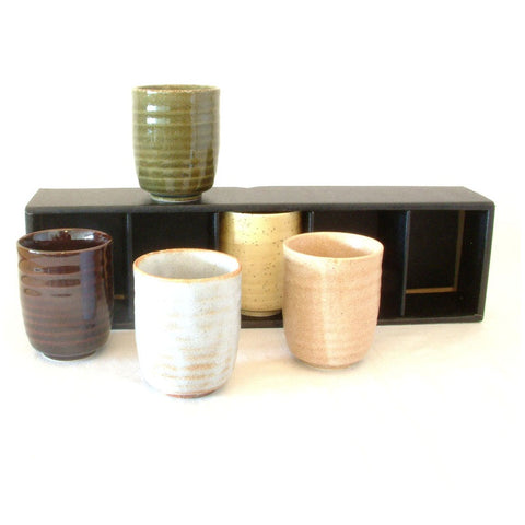 Set of 5 Japanese Cups