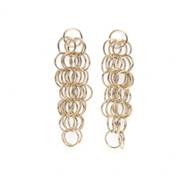 Les Basique XL Chainmail Earrings