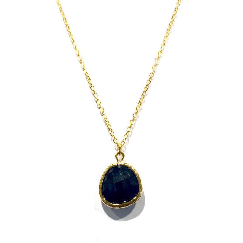 India Necklace - Black Onyx